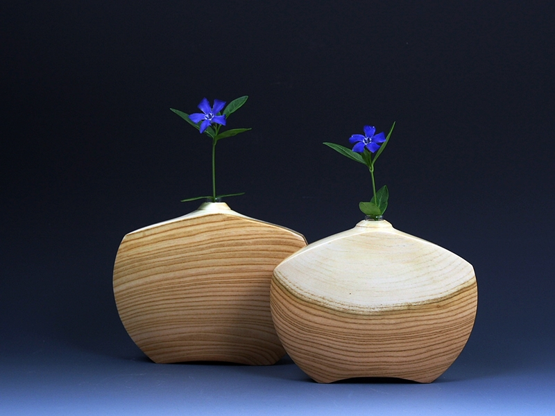 Apricot Vases