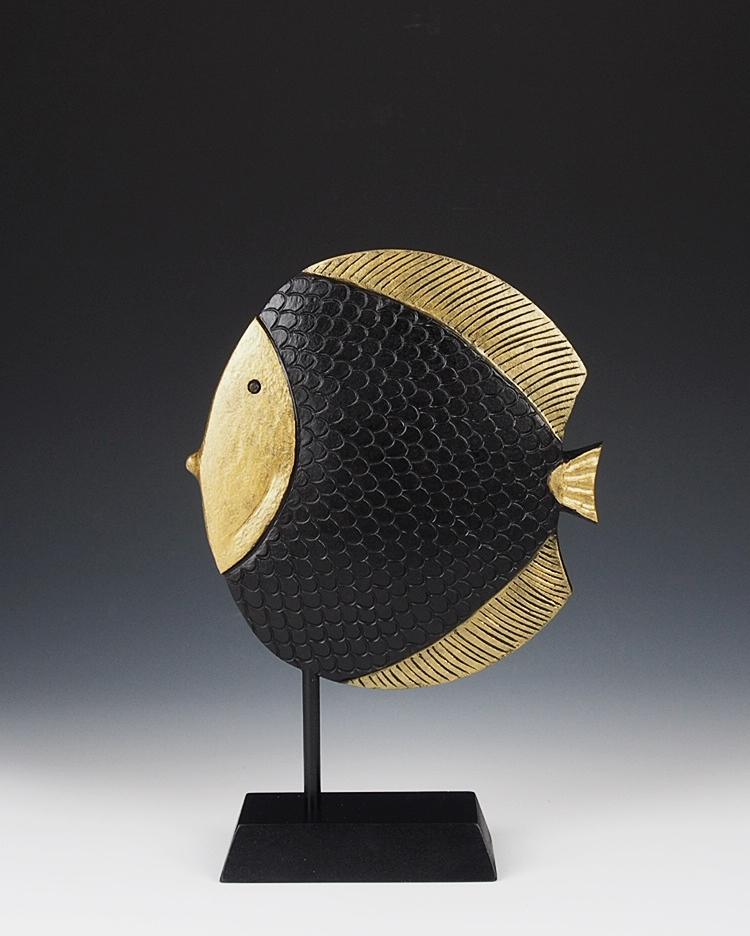 Pictus Lignum - Multi axis turned Fish