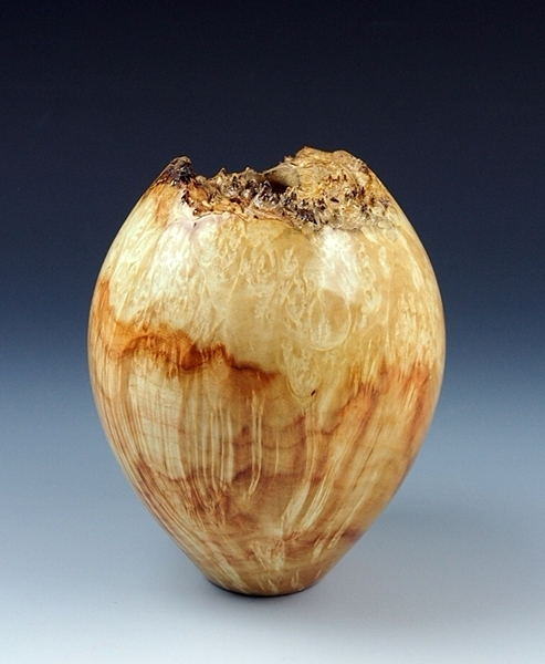 Figured Box Elder Hollow Form