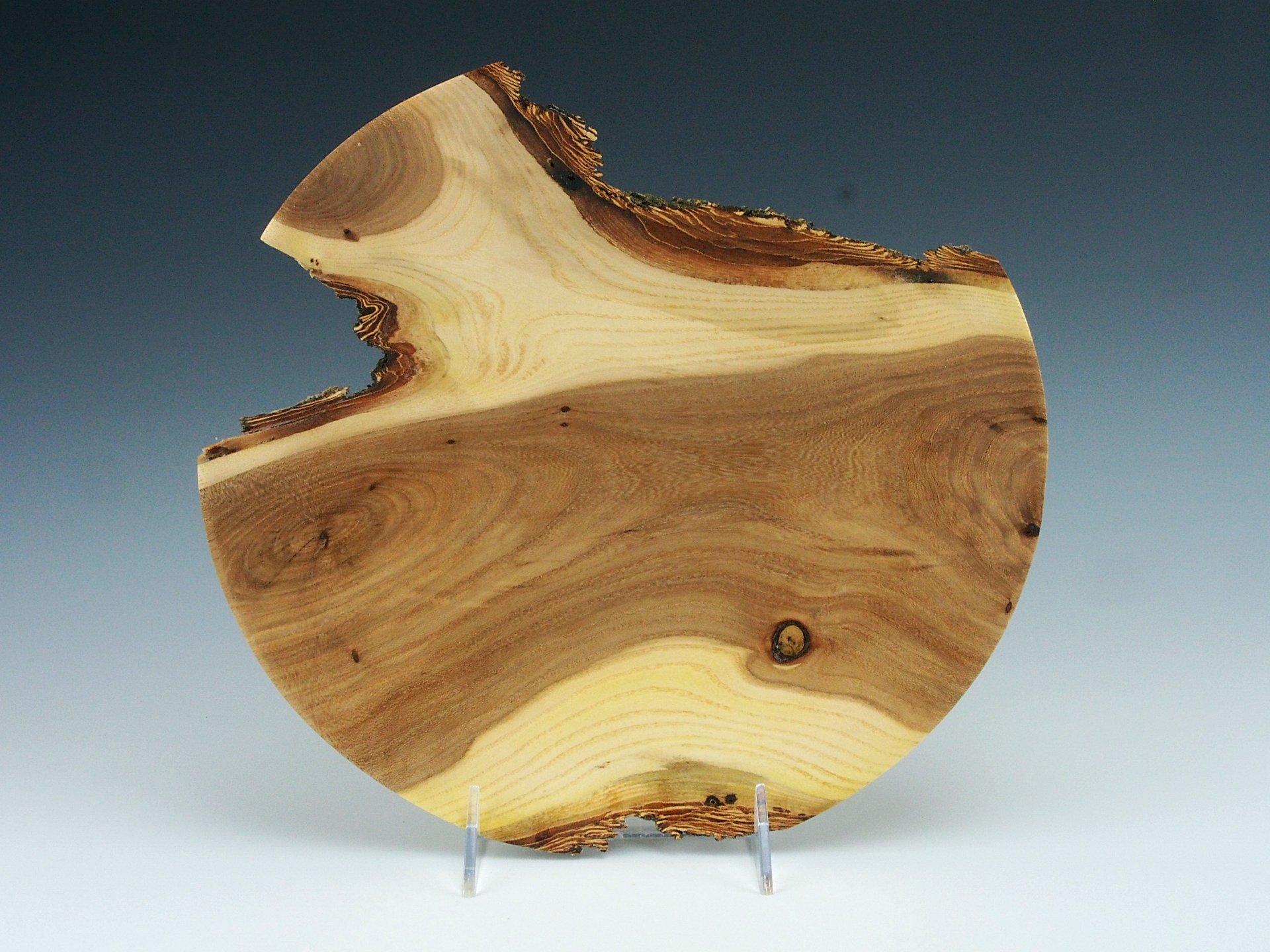 Elm Platter: Natural Edge